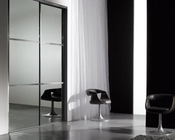 Placards les vitres coulidoor r union for Miroir gris argent